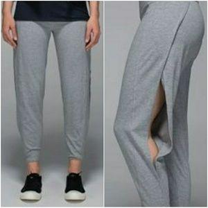 Lululemon open side track jogger yoga pants